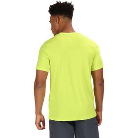 Regatta Fingal IV Camiseta Hombre, lime punch